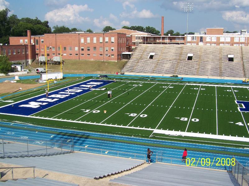 Meridian High School Football Field Renovation Sur Line